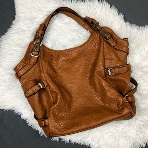 Big Buddha Tan Camel Large Shoulder Hobo Bag Purse
